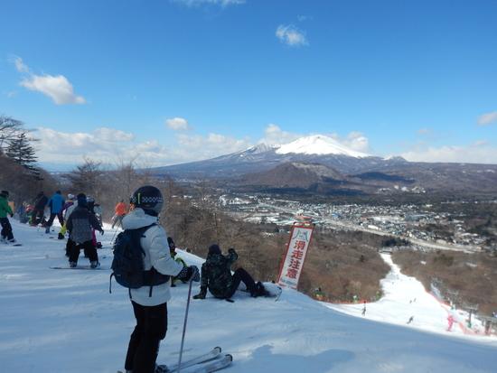 横長のスキー場 軽井沢プリンスホテルスキー場のクチコミ画像2