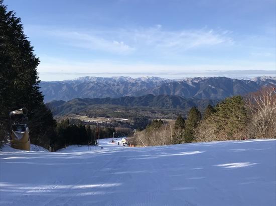 雪が無い・・・|鷲ヶ岳スキー場のクチコミ画像