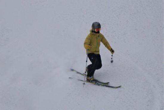 下半分はベッチョリでも上は快適|信州松本 野麦峠スキー場のクチコミ画像