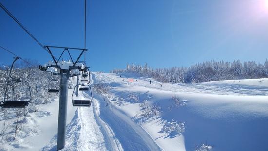 快晴の元旦スキー 上越国際スキー場のクチコミ画像