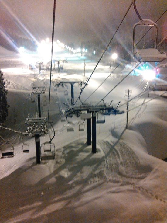 ナイター初日|神立スノーリゾート(旧 神立高原スキー場)のクチコミ画像