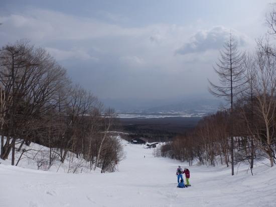 降雪があり滑りやすくなりました|サンメドウズ清里スキー場のクチコミ画像3