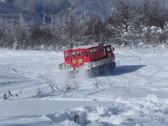 広くて滑りやすい。|菅平高原スノーリゾートのクチコミ画像