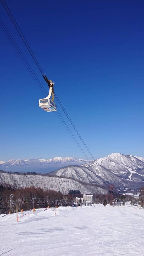 Great weather!|竜王スキーパークのクチコミ画像2