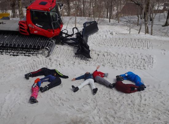 令和元年初スキー|かぐらスキー場のクチコミ画像