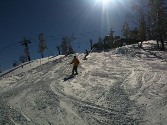ピーカンの苗場山|苗場スキー場のクチコミ画像
