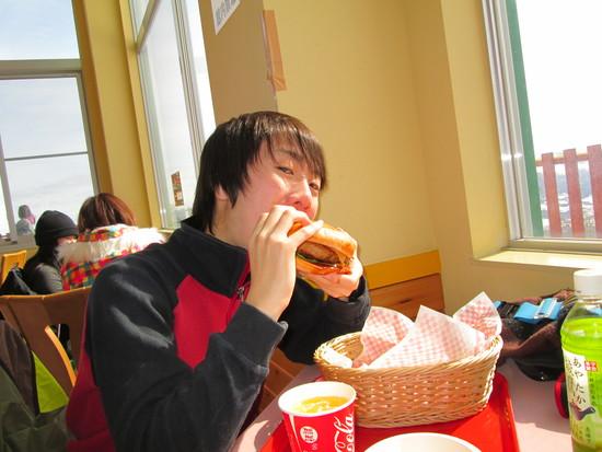 ハンバーガーうまし|高鷲スノーパークのクチコミ画像