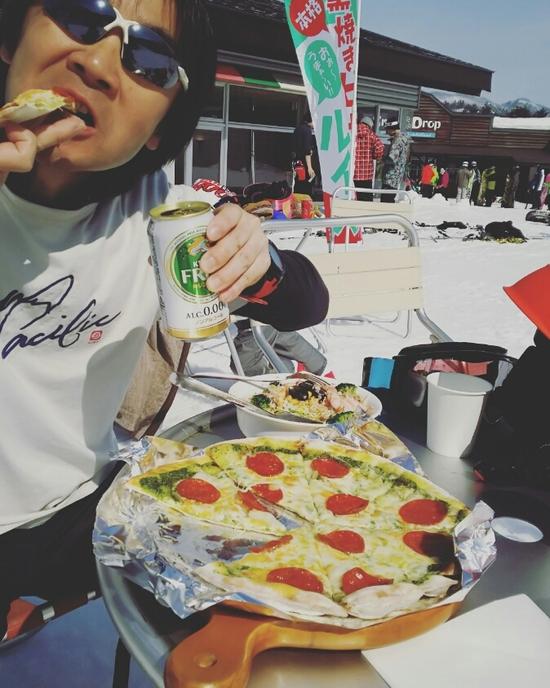 噂のピザ|Hakuba47 ウインタースポーツパークのクチコミ画像