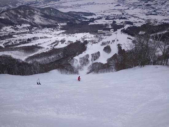 山頂エリアは要注意(笑|北信州 木島平スキー場のクチコミ画像2
