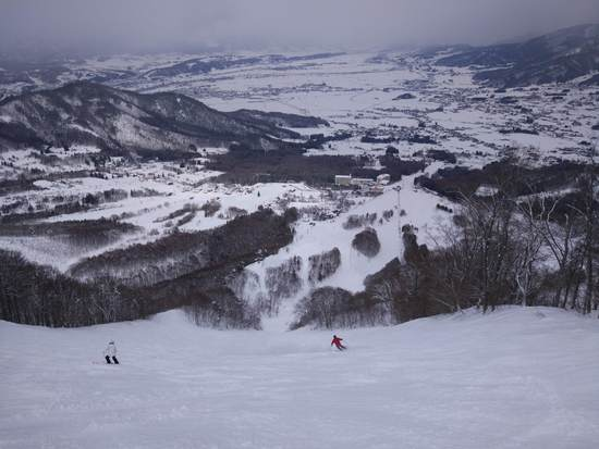 山頂エリアは要注意(笑|北信州 木島平スキー場のクチコミ画像3