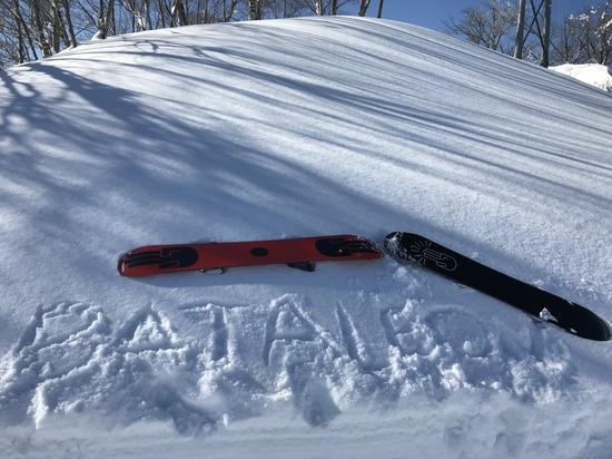 平成最後のザDAY|シャルマン火打スキー場のクチコミ画像3
