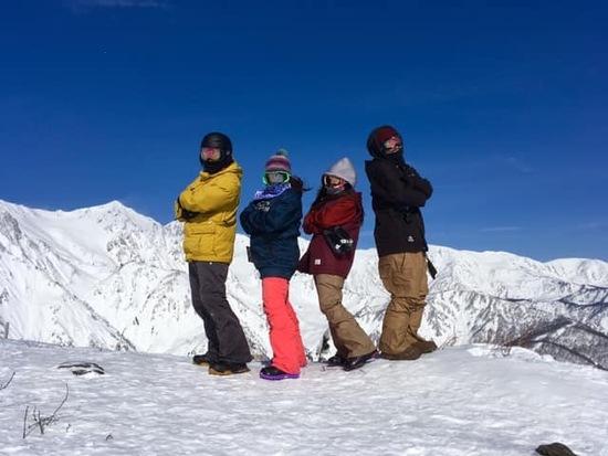 絶景|白馬八方尾根スキー場のクチコミ画像