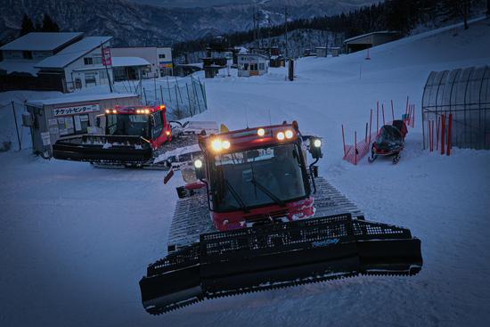 圧雪車とゲレンデ管理|おじろスキー場のクチコミ画像
