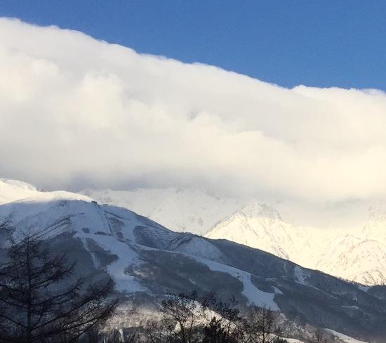 ゴンドラ停止中|白馬八方尾根スキー場のクチコミ画像