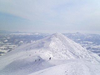 ピークまた登りたいなぁ|ニセコマウンテンリゾート グラン・ヒラフのクチコミ画像