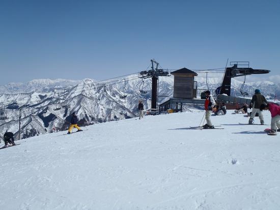 日曜日なのに|湯沢高原スキー場のクチコミ画像