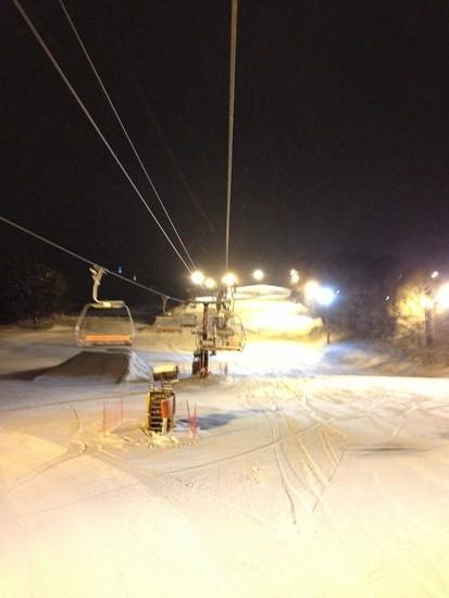 人気があって人が多いゲレンデ|鷲ヶ岳スキー場のクチコミ画像