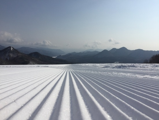 整備されたコース|会津高原だいくらスキー場のクチコミ画像1