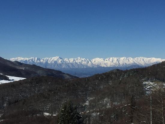 今日晴天で|菅平高原スノーリゾートのクチコミ画像3