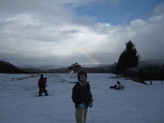虹がでました。|ダイナランドのクチコミ画像