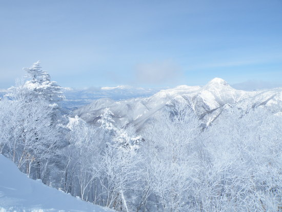 本日快晴!|万座温泉スキー場のクチコミ画像