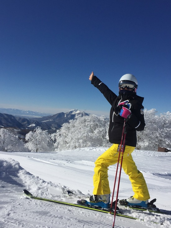 快晴日は、絶景|箕輪スキー場のクチコミ画像