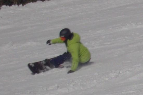 昨日は良かったろうな|信州松本 野麦峠スキー場のクチコミ画像2