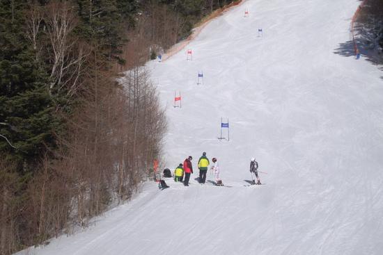昨日は良かったろうな|信州松本 野麦峠スキー場のクチコミ画像3