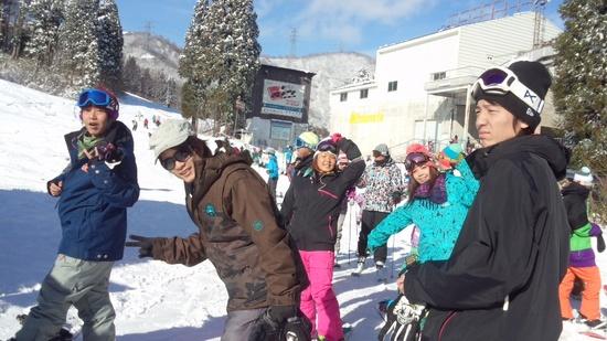 初滑り♪|かぐらスキー場のクチコミ画像