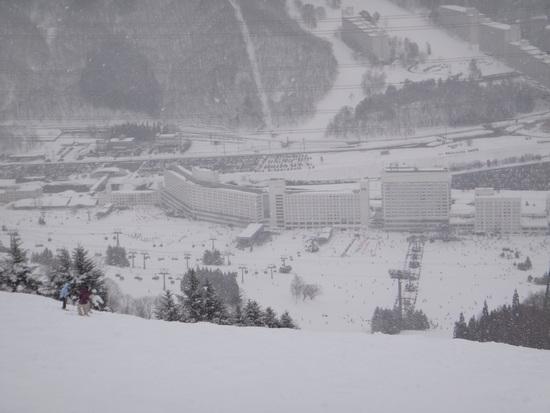 やはりリゾートと言えば苗場なのか|苗場スキー場のクチコミ画像