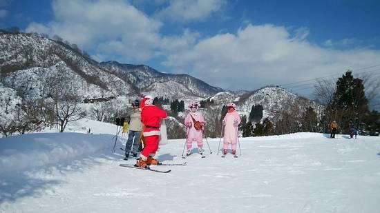 ひと足早くクリスマススキー|戸狩温泉スキー場のクチコミ画像