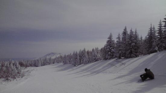 晴れていたけど寒ーい|パルコールつま恋スキーリゾートのクチコミ画像1