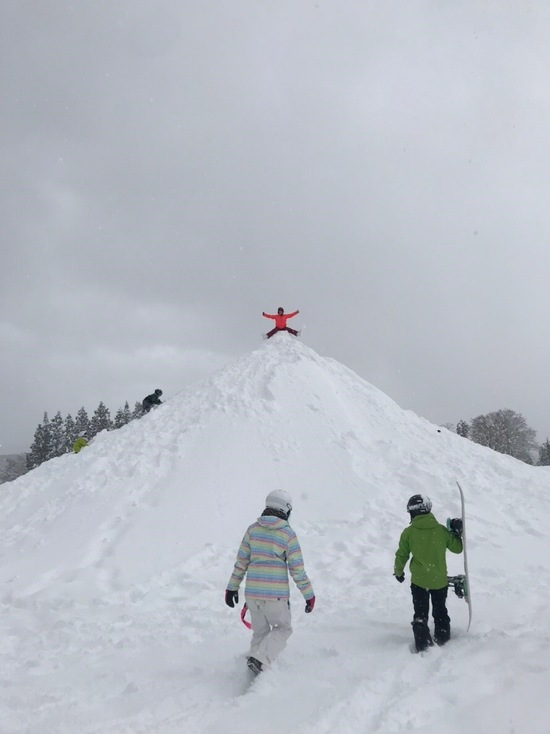 隠れた遊び場|さかえ倶楽部スキー場のクチコミ画像