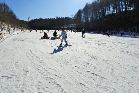 初心者が練習し易いスキー場 ハンターマウンテン塩原のクチコミ画像2