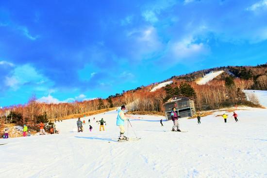 初心者が練習し易いスキー場 ハンターマウンテン塩原のクチコミ画像3