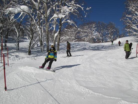 晴天最高 野沢温泉スキー場のクチコミ画像