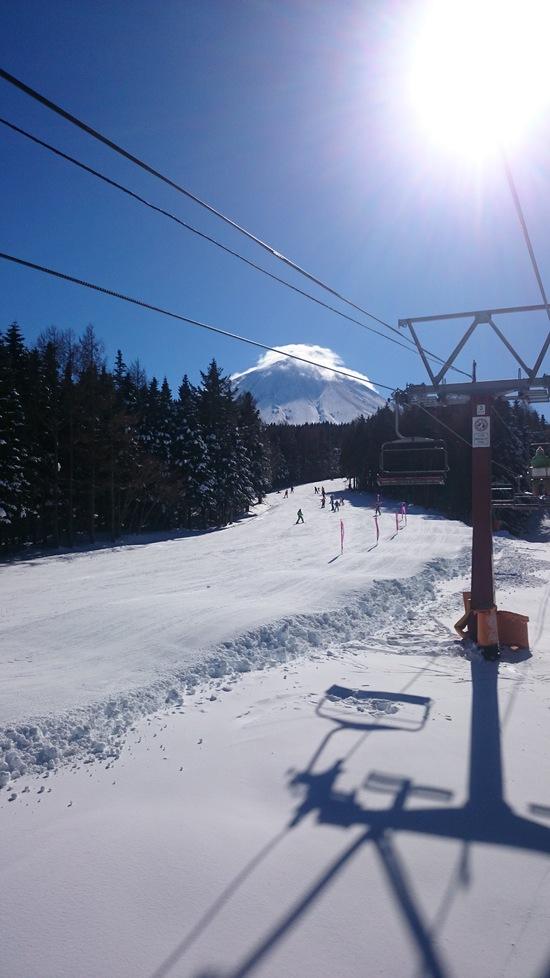 眺め最高!富士山&樹氷!|ふじてんスノーリゾートのクチコミ画像