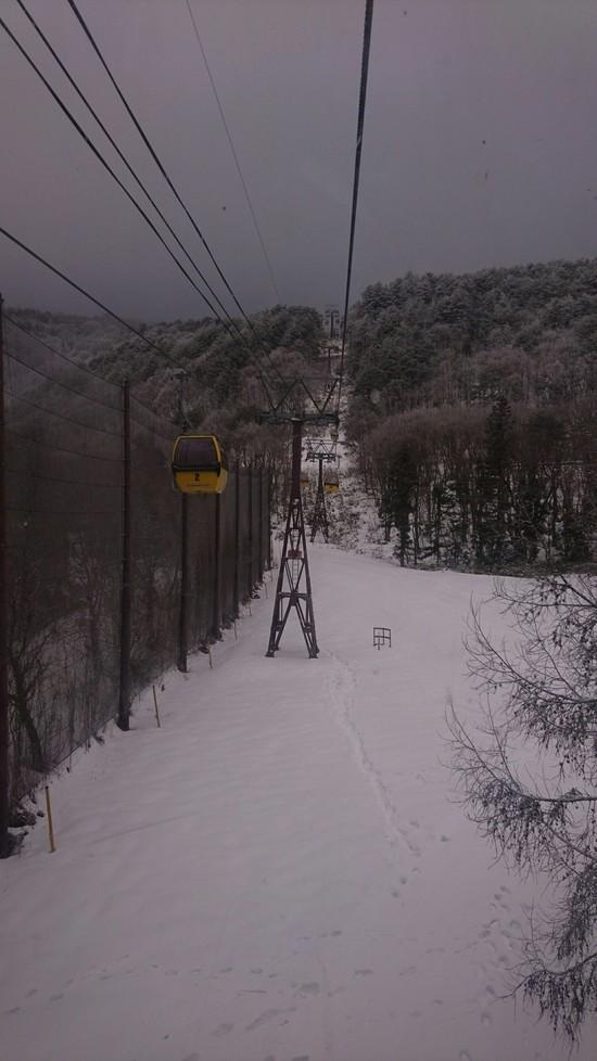 ここも山頂から滑走できました|猪苗代リゾートスキー場のクチコミ画像