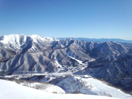 圧巻の景色|苗場スキー場のクチコミ画像