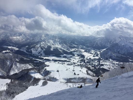 良い雪堪能|岩原スキー場のクチコミ画像