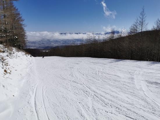 3月寒波のあとのよい雪が楽しめました|八千穂高原スキー場のクチコミ画像