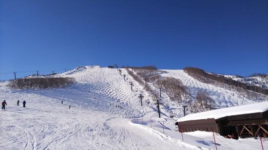 八方尾根 スキー 場 白馬