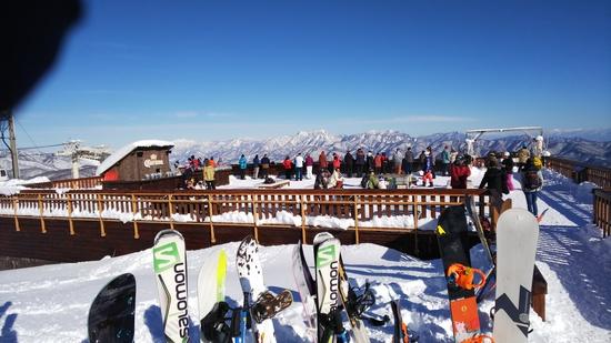 晴天|白馬八方尾根スキー場のクチコミ画像2