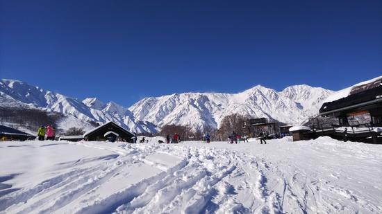 晴天|白馬八方尾根スキー場のクチコミ画像3