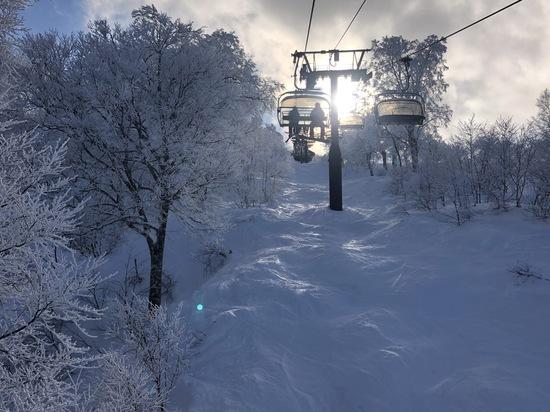 やまびこゲレンデ気持ち良いー!|野沢温泉スキー場のクチコミ画像
