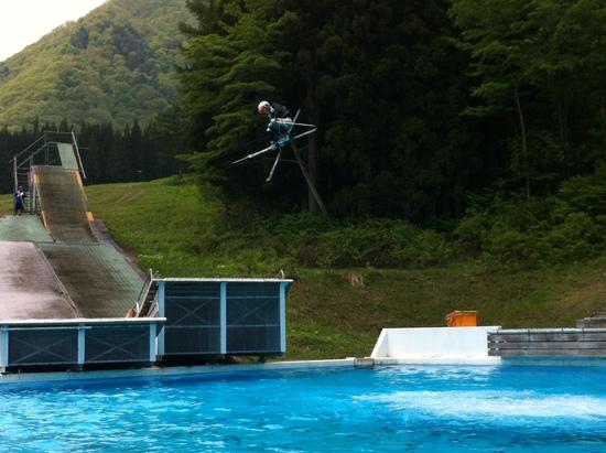 ウォータージャンプオープン!|白馬さのさかスキー場のクチコミ画像