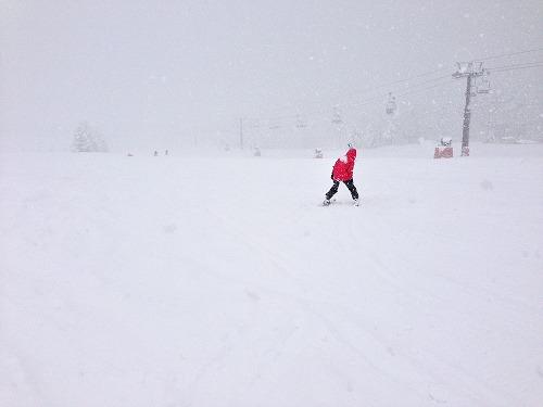 猛吹雪|北信州 木島平スキー場のクチコミ画像2