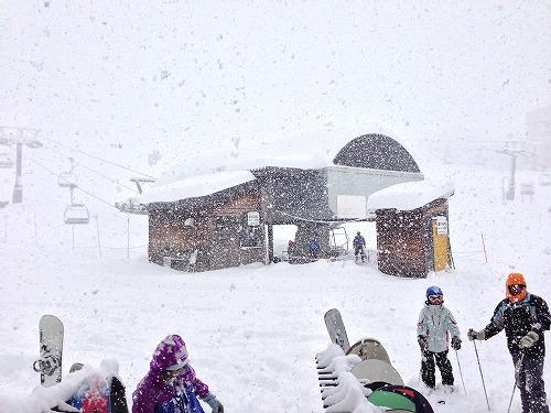 猛吹雪|北信州 木島平スキー場のクチコミ画像3