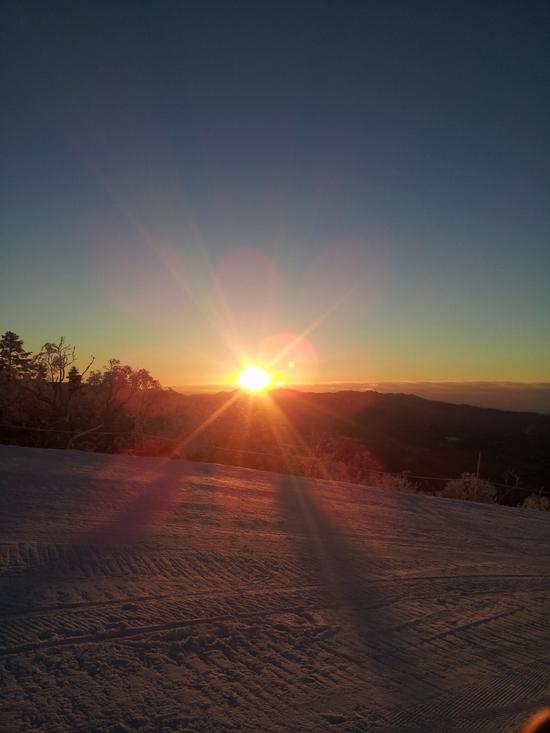 初日の出|川場スキー場のクチコミ画像