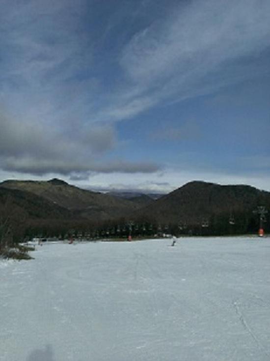 まずまずの雪|湯の丸スキー場のクチコミ画像